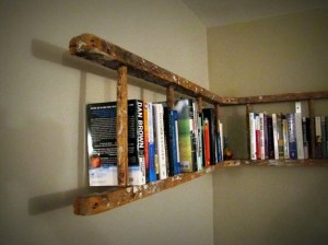 Diy Ladder Quilt Rack